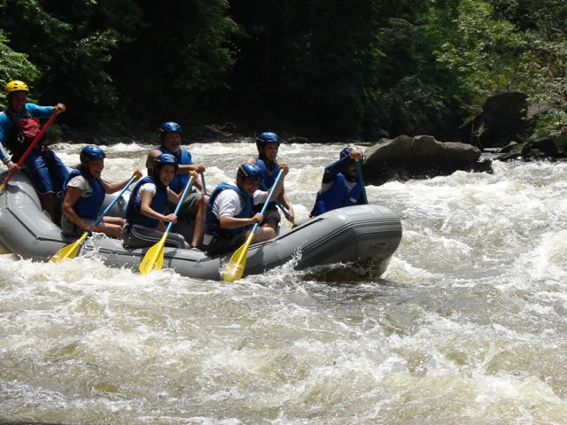 Rafting Neverí