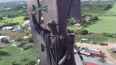Estatua-Colon-Arecibo